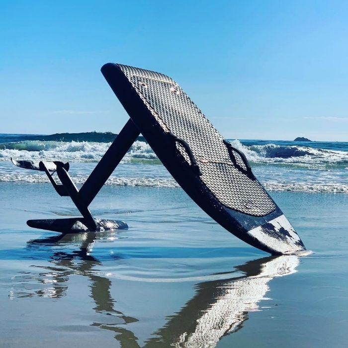 surf électrique avec foil