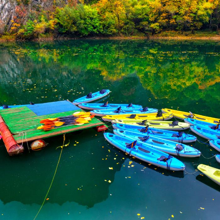 Canoë kayak en location
